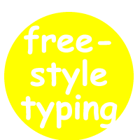 freestyle typing